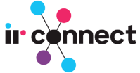 IR connect logo BLACK
